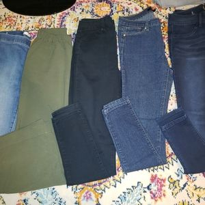 Womens juniors jeans bottoms